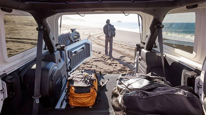 Jeep Wrangler Cargo Space