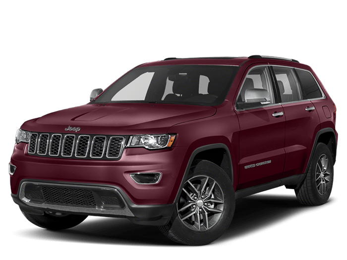 2020 Jeep Grand Cherokee Red