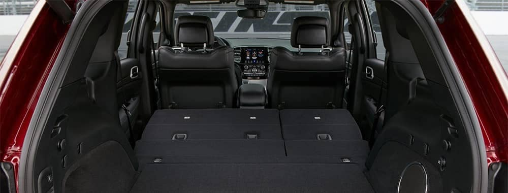 2020 Jeep Grand Cherokee Interior View with Rear Seats down