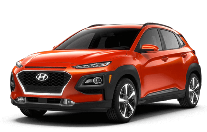 2020 Hyundai Kona Orange