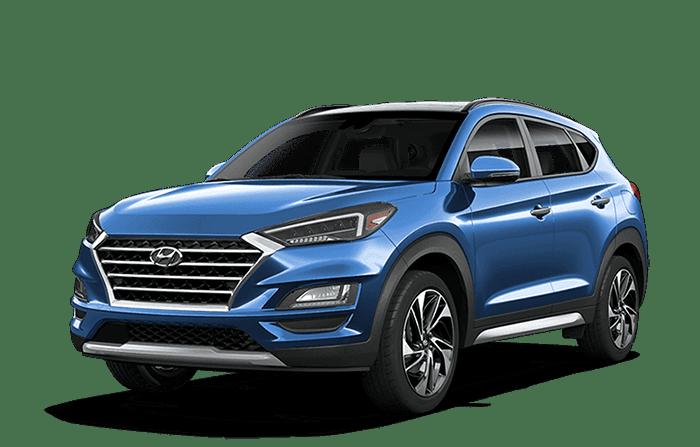 2020 Hyundai Tucson Blue