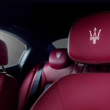 2017 Maserati Ghibli Interior Seats