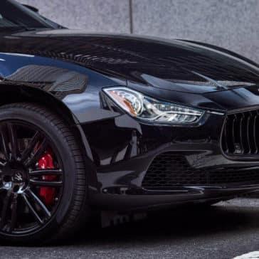 2017 Maserati Ghibli Nerissimo Front Detail