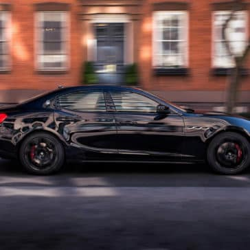 2017 Maserati Ghibli Nerissimo Houses Driving