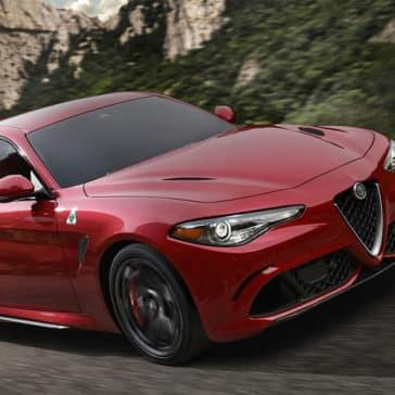 2017 Alfa Romeo Giulia Quadrifoglio Driving