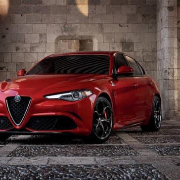2017 Alfa Romeo Giulia Quadrifoglio Front