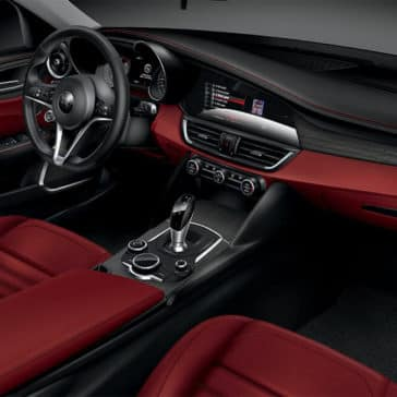 2017 Alfa Romeo Giulia Ti RWD Interior
