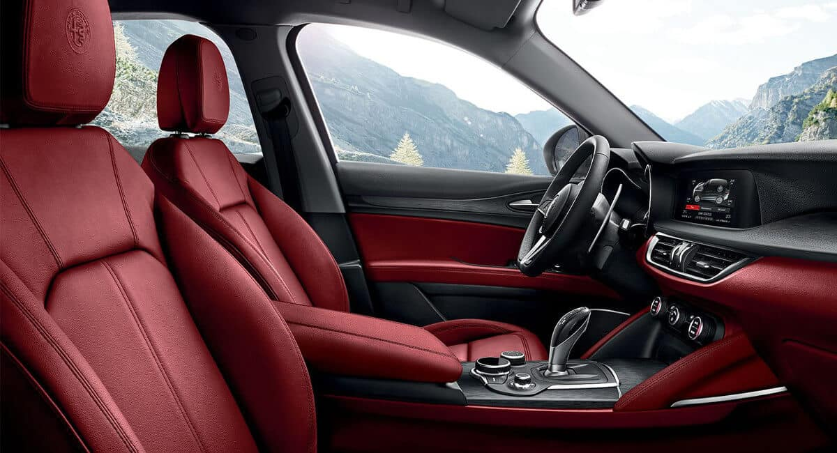 2018 Alfa Romeo Stelvio Interior Mountain