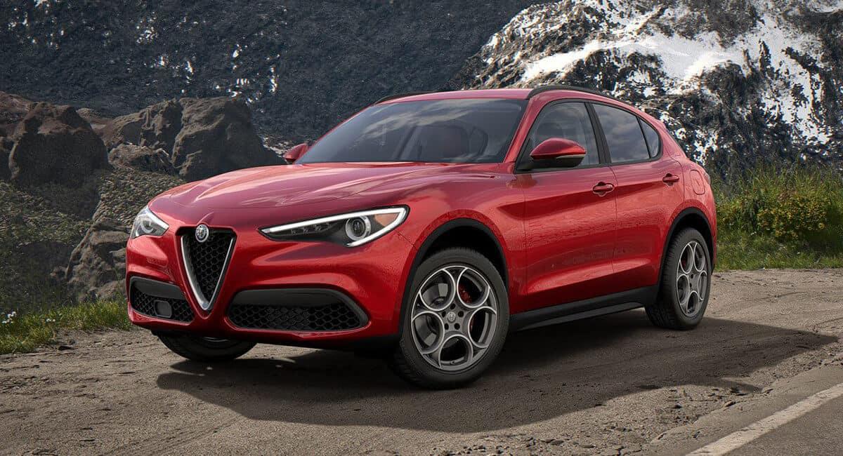 2018 Alfa Romeo Stelvio Parked