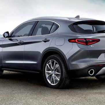 2018 Alfa Romeo Stelvio Rearview Mountain