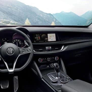 2018 Alfa Romeo Stelvio Ti Interior Mountain