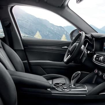 2018 Alfa Romeo Stelvio Ti Interior Seating