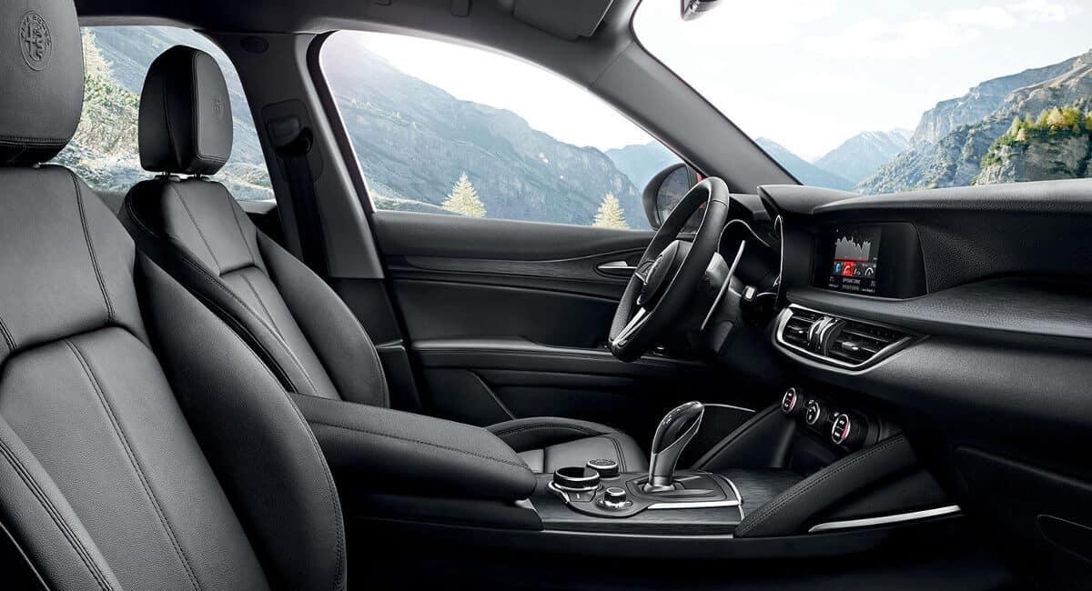 2018 Alfa Romeo Stelvio Ti Interior Seating