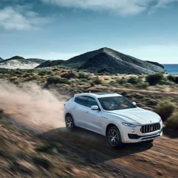 2017 Maserati Levante Desert Drive