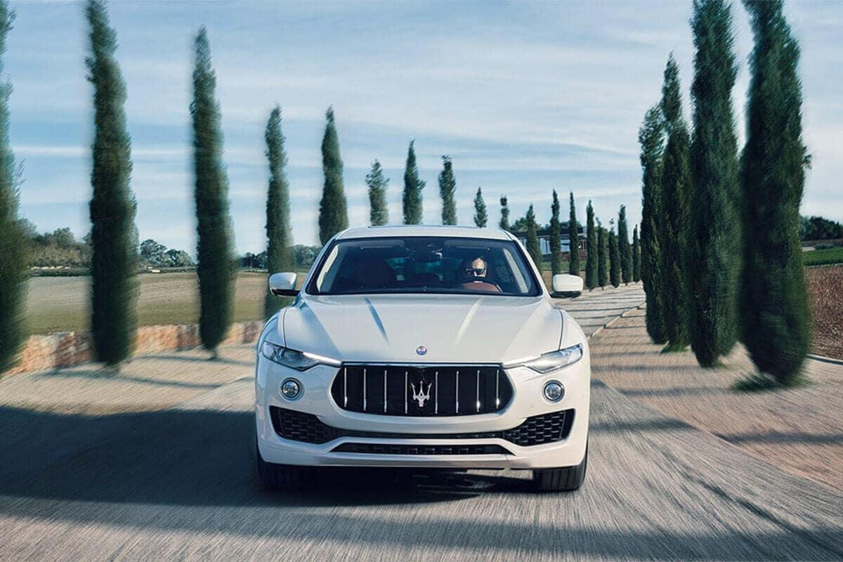 2017 Maserati Levante Driving