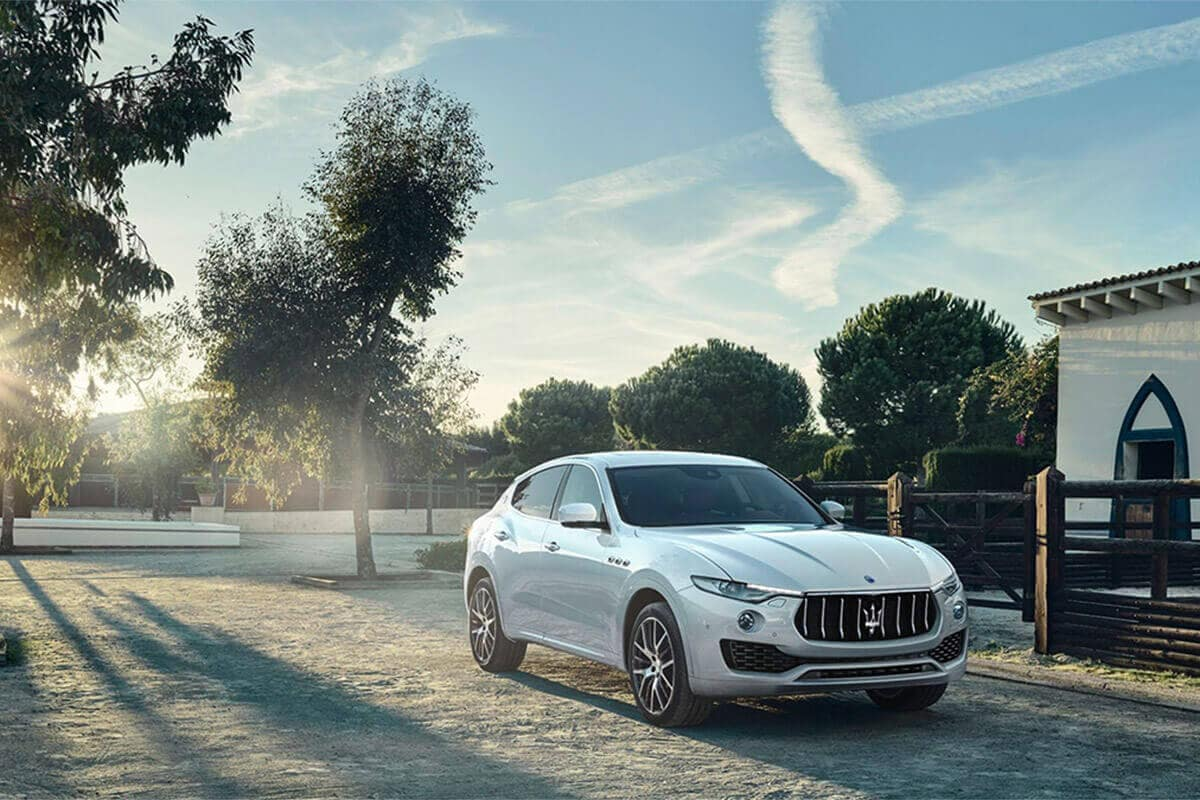 2017 Maserati Levante Parked Home