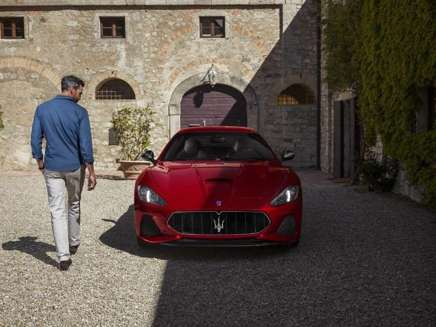2018 Maserati Granturismo Exterior