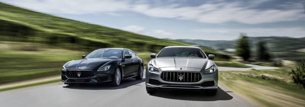 2018 Maserati Quattroporte hero