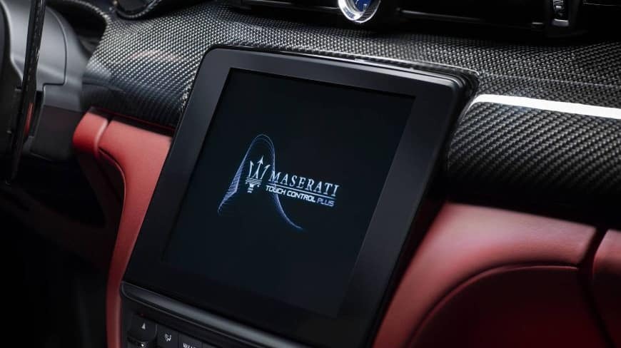 Maserati Quattroporte MTC+ Functions and Features