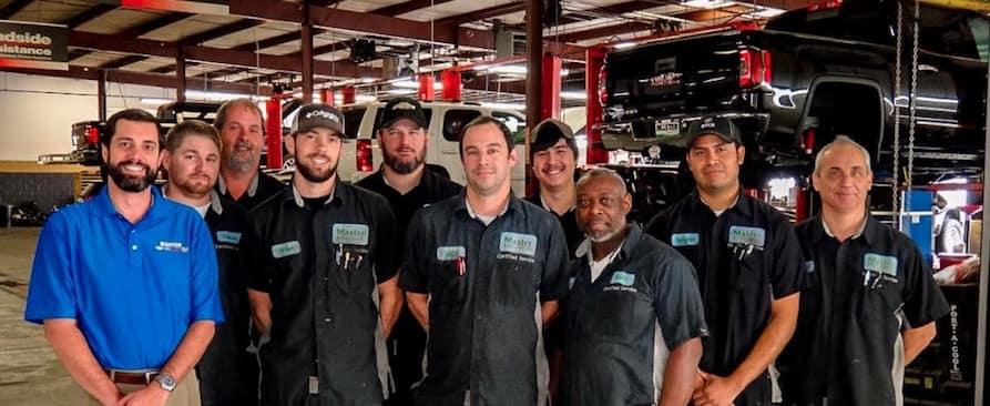 Master Buick GMC service department