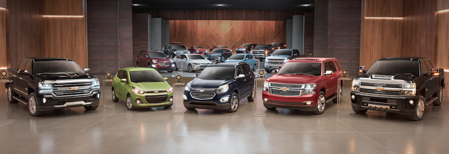 New Chevrolet vehicles available near North Augusta