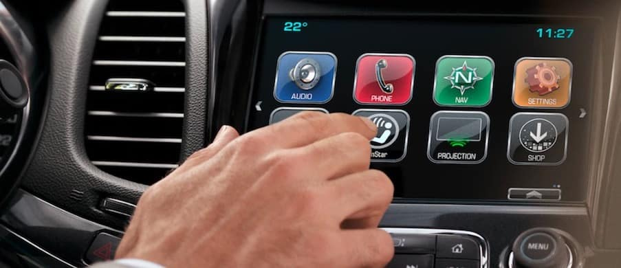 Chevy MyLink touch-screen