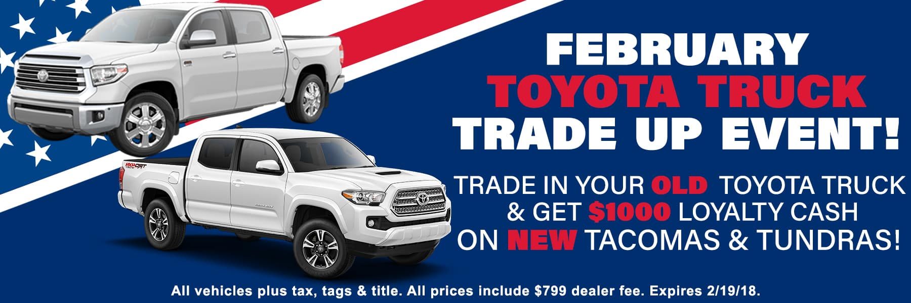 Feb Truck Trade