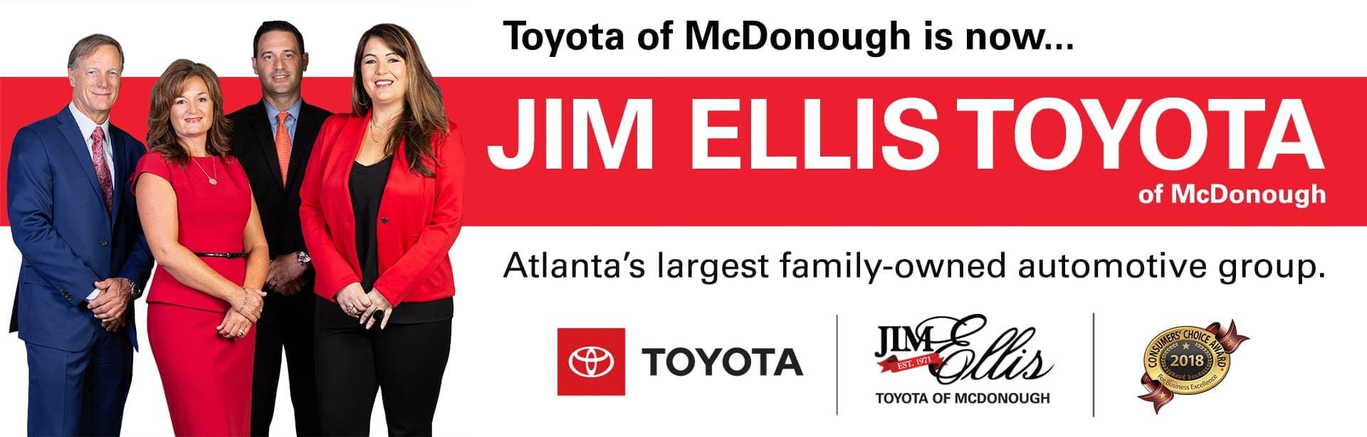 Jim Ellis Toyota of McDonough