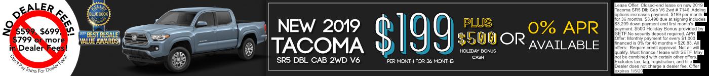 2019 Tacoma Offer