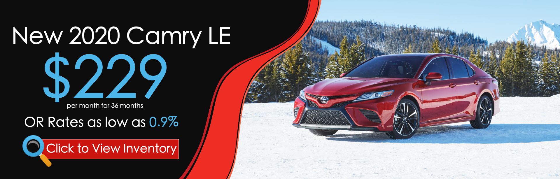 2020 Camry Offer