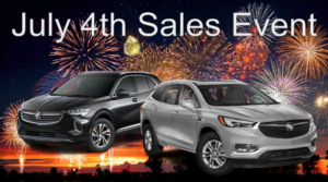 Chevy Buick July 4th 2021 Sales Event