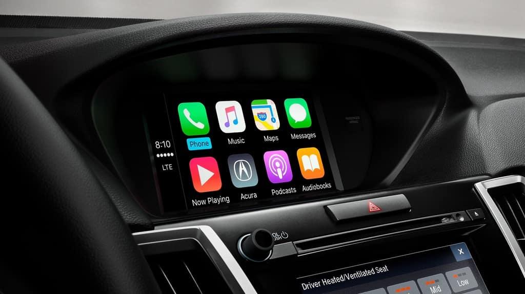 2018 Acura TLX dashboard