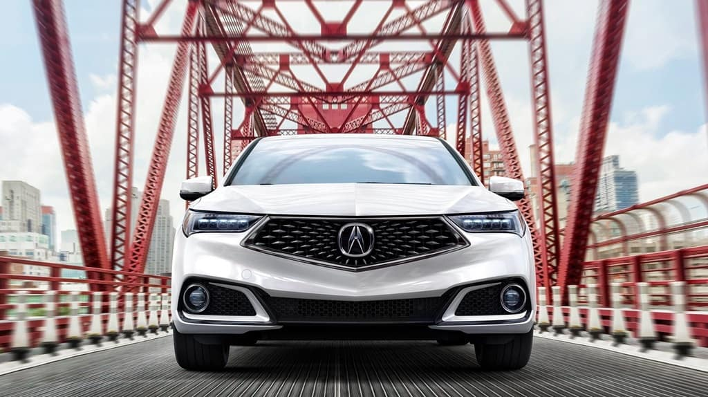 2018 Acura TLX Front
