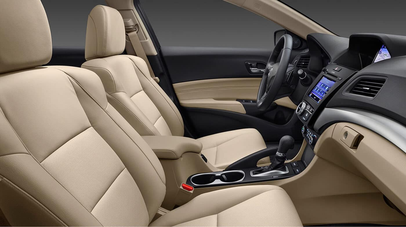 2018 Acura ILX Brown Interior