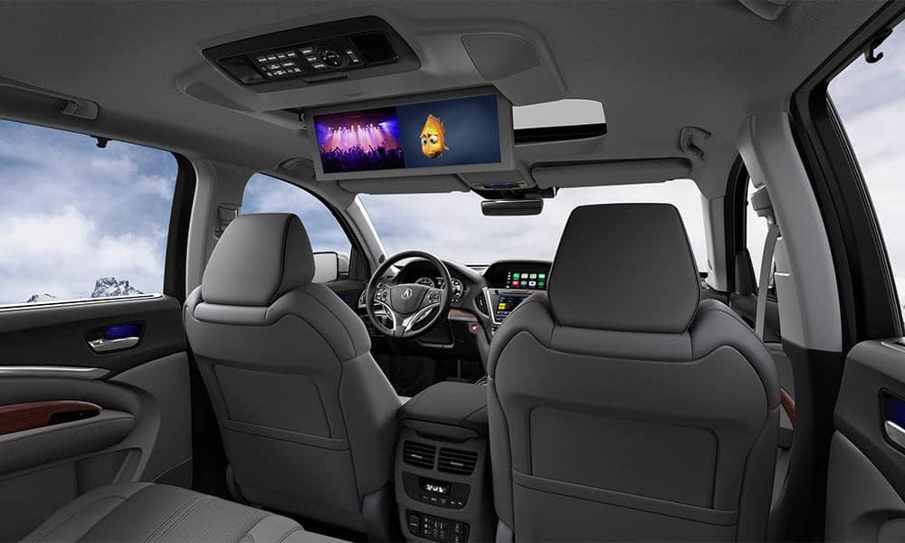 2018 Acura MDX Rear Cabin
