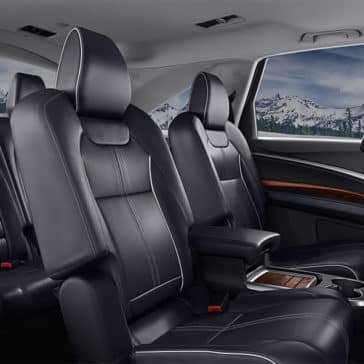 2018 Acura MDX Interior Cabin