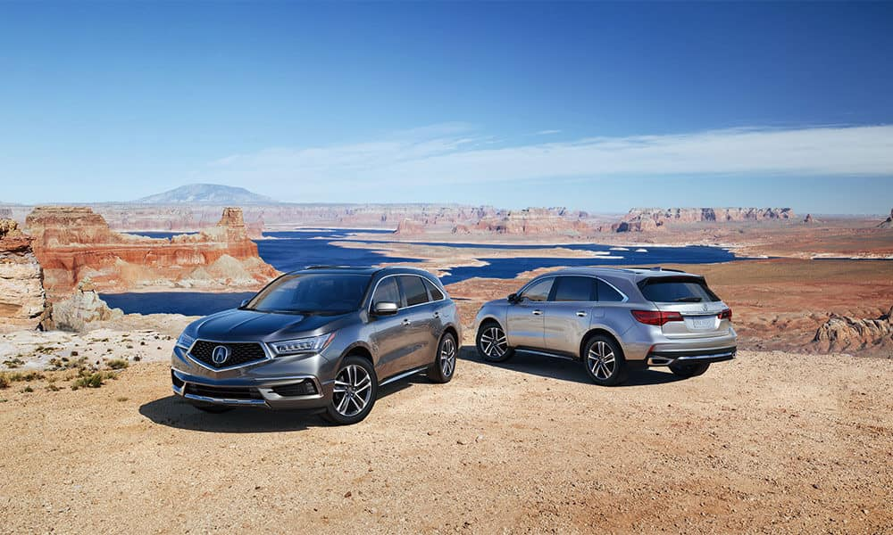 2018 Acura MDX Two Exterior Models