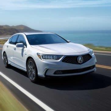 2018 Acura ILX White Front Exterior