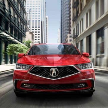 2018 Acura RLX Front Grill View