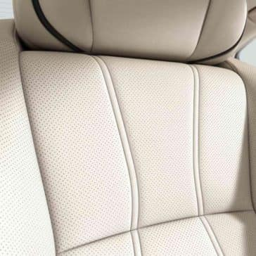 2018 Acura RLX Seat Close Up