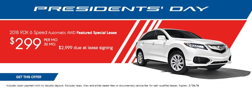 RDX Lease offer