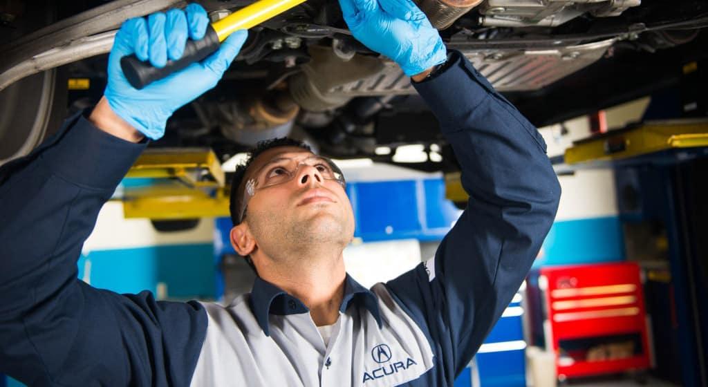 Acura Tech With Drain Bolt