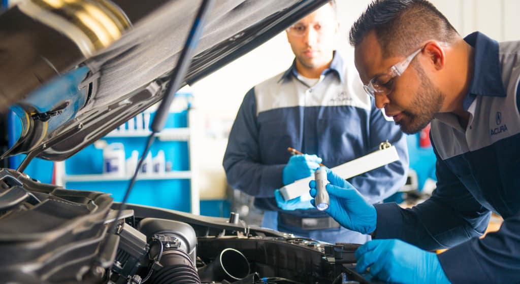 Acura Tech Inspection