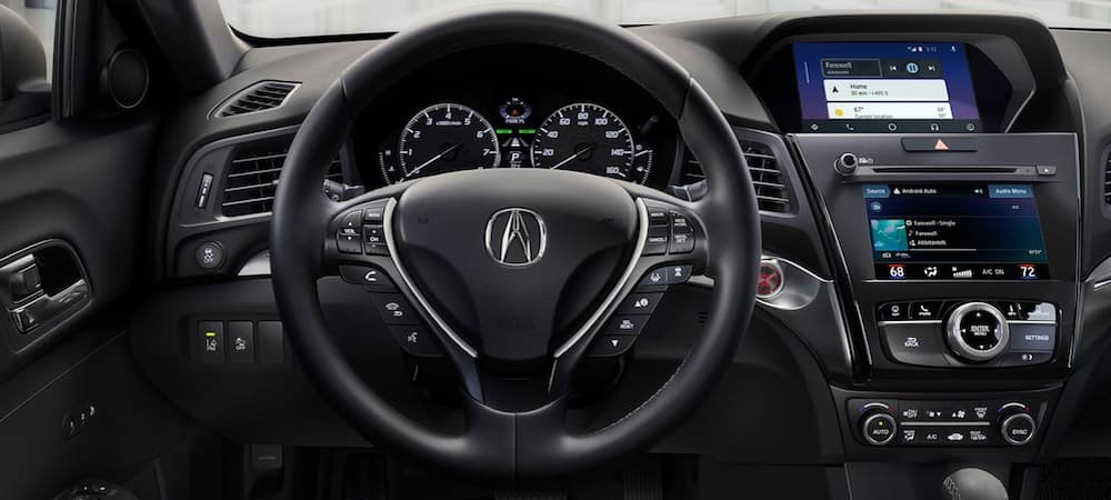 Interior of the 2019 ILX with Technology Package