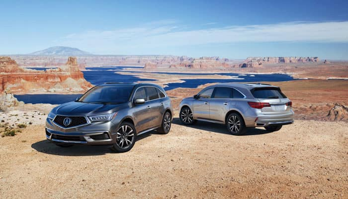 Two 2019 Acura MDX Outdoors
