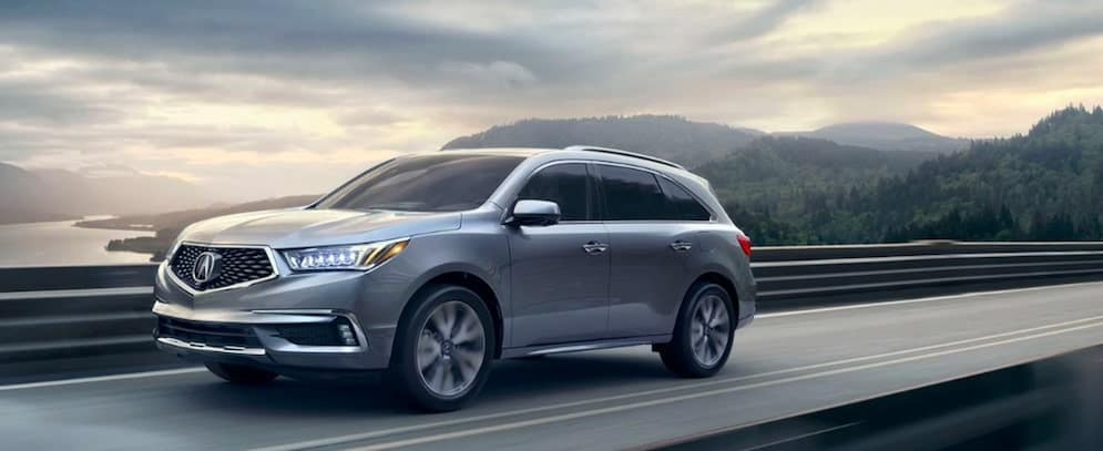 2019 Acura MDX on Highway
