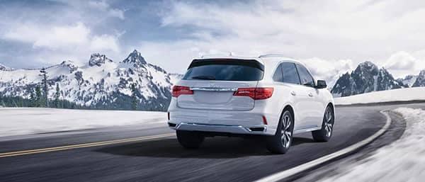 2019 Acura MDX In Snow