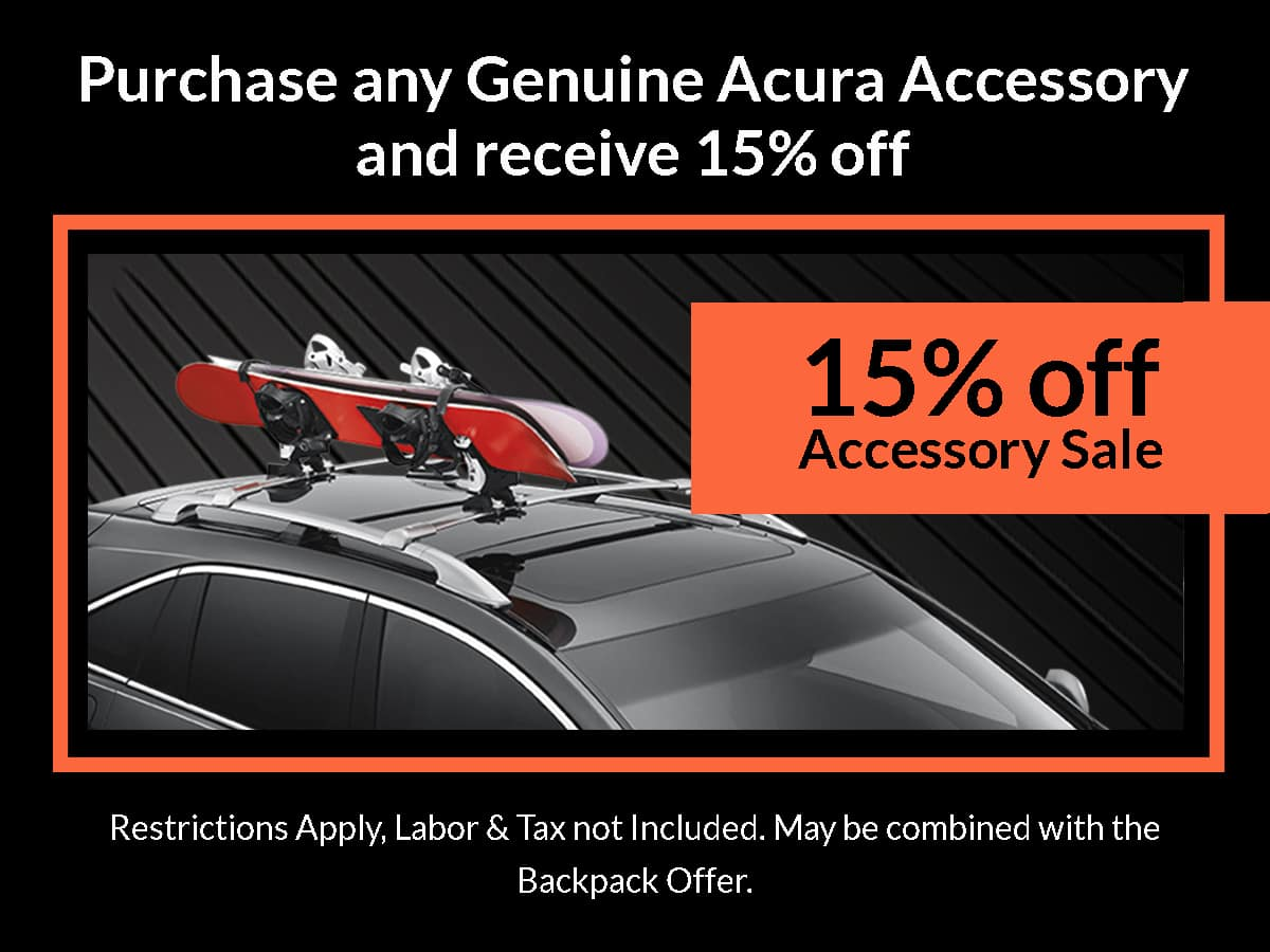 Acura Protection Package Special Coupon