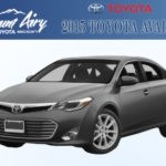 Mount Airy Toyota 2015 Avalon Silver