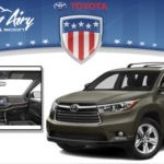 Mount Airy Toyota 2015 Highlander Green